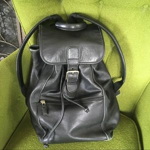 RARE Vintage Coach Backpack 0529 Vintage Leather